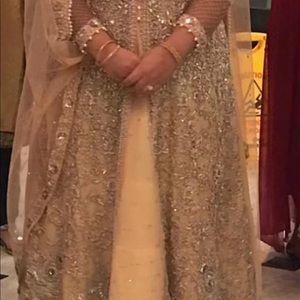 Pakistani evening dress